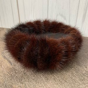 Vintage 1915 era women's fur hat